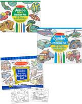 Melissa & Doug Coloring Pad Bundle: Animals, Vehicles & Multi-Theme