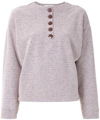 Framed Wool Sweater