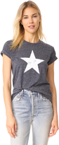 David Lerner Big Star Crew Neck Tee