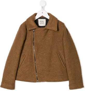 Douuod Kids Zipped Casual Jacket