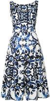 Samantha Sung Penny dress - women - Cotton/Spandex/Elastane - 6