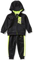 Nike Baby Boys 12-24 Months Therma-FIT Fleece Hoodie Jacket & Pant Set