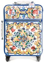 Dolce & Gabbana Majolica print trolley - women - Leather - One Size