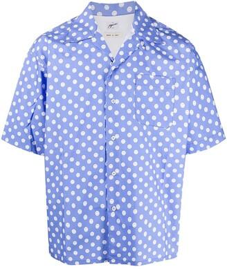 Marni Polka Dot Smiley Shirt