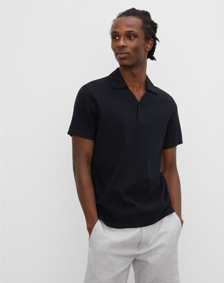 Club Monaco Split Neck Polo