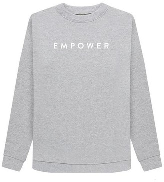 Chickidee - Grey Organic Cotton Sweatshirt Empower - 10