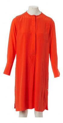 Hermes Orange Silk Dresses