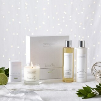 The White Company Lime & Bay Luxury Gift Set, No Colour, One Size