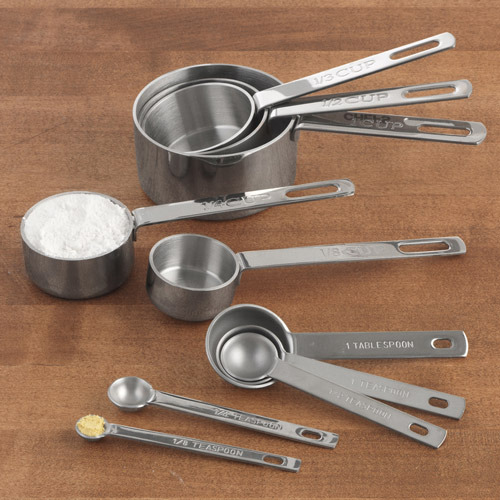 Chefs Stainless-Steel Measuring Spoons