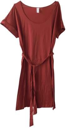 Eres \N Orange Cotton Dress for Women