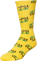 HUF Kingston Crew Sock Yellow