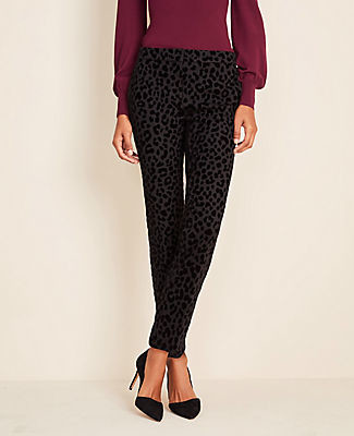 Ann Taylor The Tall Ankle Pant In Cheetah Print