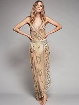 Sky Fall Embellished Maxi by Intimately at Free People