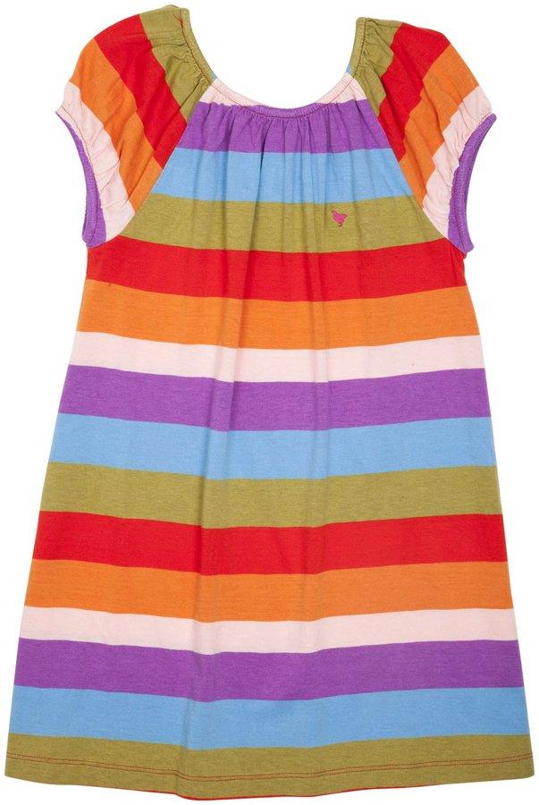 Pink Chicken Edie Dress - Rainbow-12 Months