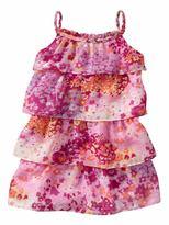 Gap Flower tiered dress