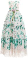 Dolce & Gabbana Organza Petal Tulle Gown