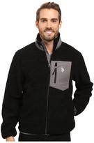 U.S. Polo Assn. Full Zip Sherpa Jacket