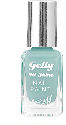 Barry M Gelly Hi Shine Nail Paint 10Ml Berry Sorbet