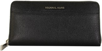 Michael Kors Black Saffiano Leather Continental Wallet
