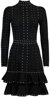 Sandro Rhinestone-Embellished Dress