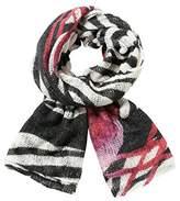 Desigual Women's Zebra Woven Scarf