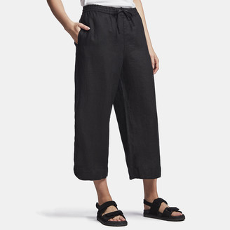 James Perse Linen Cropped Pant