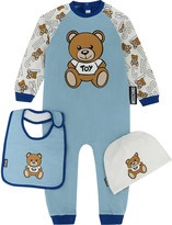 Moschino Teddy bear onesie set 1-12 months