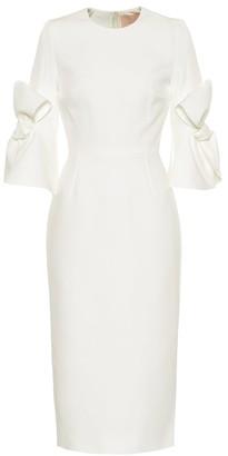 Roksanda Lavete bonded crepe bridal dress
