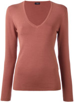 Joseph knit V-neck top - women - Silk/Nylon/Spandex/Elastane - S