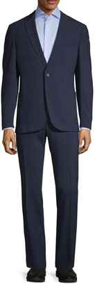 HUGO BOSS Slim-Fit Marzotto Wool-Blend Suit
