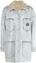 MM6 MAISON MARGIELA oversized washed denim jacket