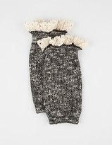 Full Tilt Marled Crochet Trim Boot Cuff