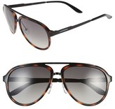 Carrera Eyewear 58mm Aviator Sunglasses