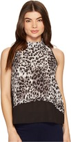 Romeo & Juliet Couture Sleeveless Leopard Tank Top