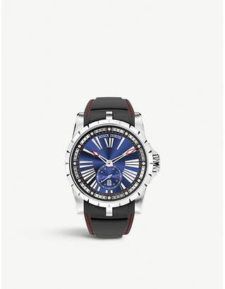 Roger Dubuis RDDBEX0602 Excalibur titanium and rubber automatic watch