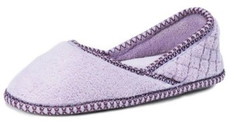 Muk Luks Women's Beverly Micro Chenille Slip-ons Slipper