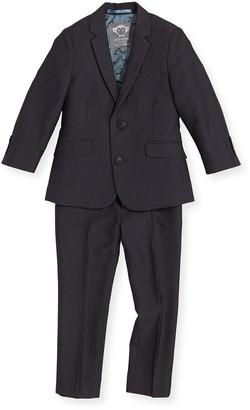 Appaman Boys' Two-Piece Mod Suit, Vintage Black, 2T-14