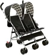 Delta Children DX Side by Side Plaid Double Stroller