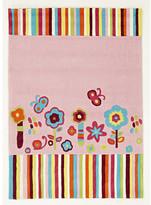 Kids Floral Patterned Rug Rug