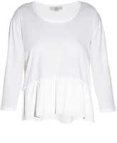 Stella McCartney Ruffle-trimmed top