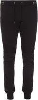 Balmain Biker slim-leg cotton track pants