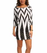 Jordan Taylor Tribal Boatneck Tunic 8113414