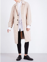 Burberry Relaxed-fit tropical cotton-gabardine trench coat