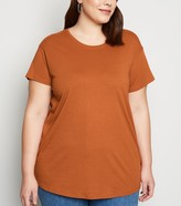 New Look Curves Organic Cotton Oversized T-Shirt