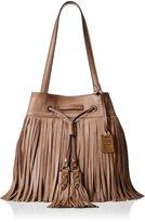 Frye Heidi Fringe Bucket Shoulder Bag