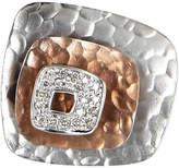 One Kings Lane Vintage Square Diamond Cocktail Ring 14k