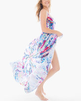 Chico's Les Plumes Swim Cover-up Pareo