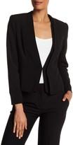 Catherine Malandrino Dual V-Neck Fully Lined Jacket