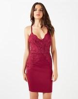Lipsy Scallop Lace Bodycon Dress