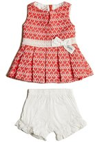 GUESS Jacquard Dress and Shorts Set (0-24M)